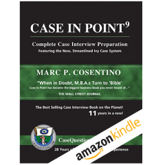 Case in Point 9 Book Cover for Kindle