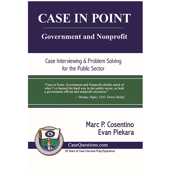 Case in Point  Government and Nonprofit